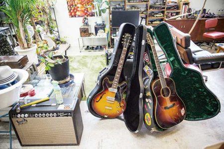 所さんのギターコレクションと世田谷ベースおすすめのギター