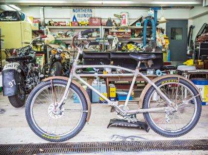 70年以上前の超ビンテージ自転車を所さんがカスタムする