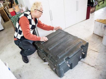 世田谷ベースに届いた謎の箱(第二弾)、一体この黒いケースはなんだ?