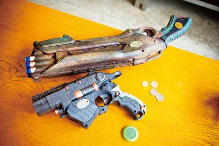 『まるでヘビーなスチール製の銃』所さんが提案するナーフの楽しみ方