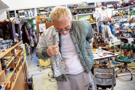 所さんの『上着オン上着』袖詰め丈詰めの重ね着ファッション術