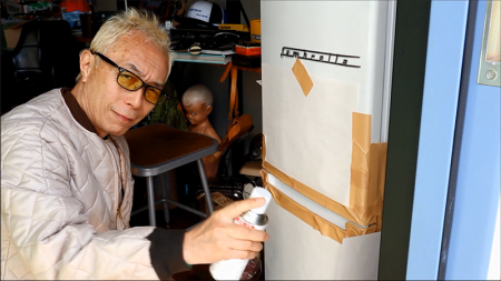 【所さんの日曜日】ニトリの冷蔵庫をスプレー塗装で世田谷ベースのスタイルに!