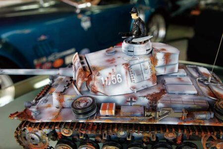 所さんの戦車コレクション 01 戦車もクルマもウェザリング&錆び加工 世田谷ベースの新イメージカラーは錆で決定!?