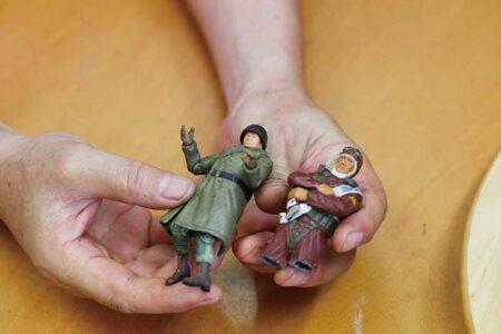 所さんの戦車コレクション 03 人形作りも徹底的にっ!! 所さん的戦車兵の作り方