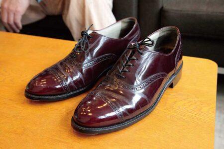 なるべく安価な ビンテージの革靴を買って レストアしちゃう愉しみ その01