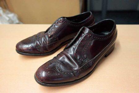 なるべく安価な ビンテージの革靴を買って レストアしちゃう愉しみ その2