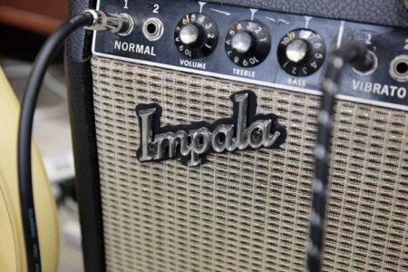 ギターのアンプに インパラがドンピシャ そんな偶然ってある??